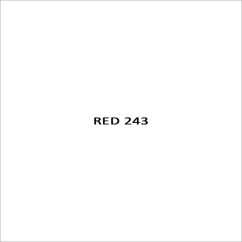 Red 243