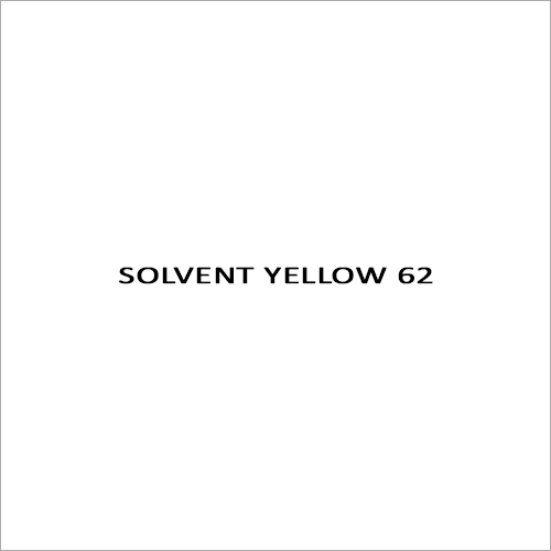 Solvent Yellow 62