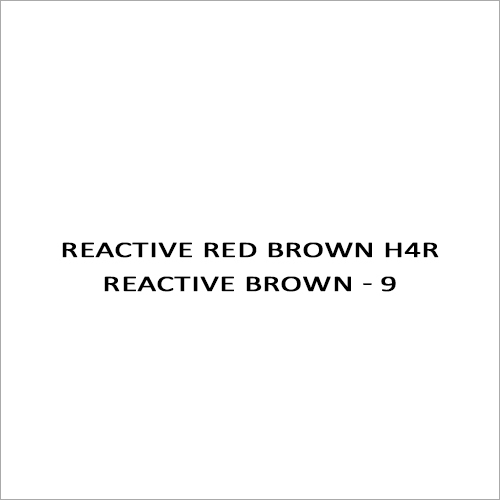 Reactive Red Brown H4R Reactive Brown - 9