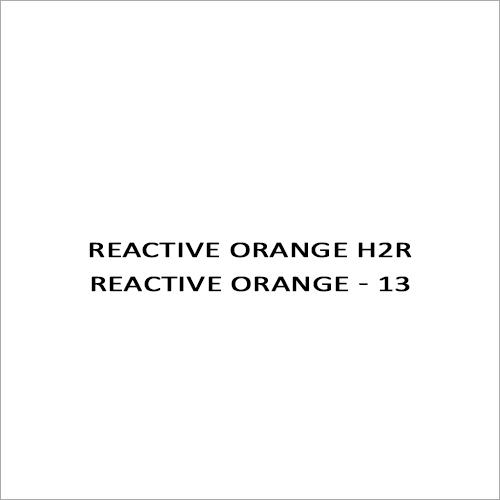 Reactive Orange H2R Reactive Orange - 13