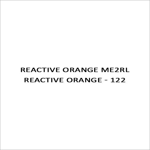 Reactive Orange ME2RL Reactive Orange - 122
