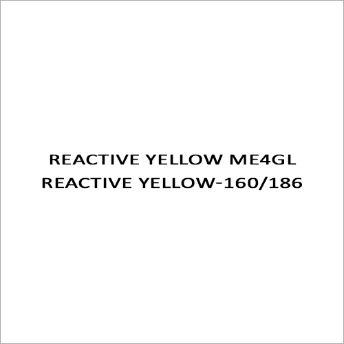 Reactive Yellow ME4GL Reactive Yellow-160-186