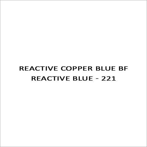 Reactive Copper Blue BF Reactive Blue - 221