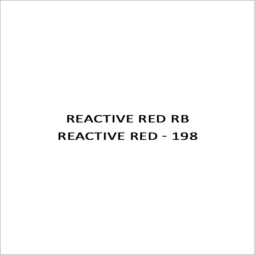 Reactive Red RB Reactive Red - 198