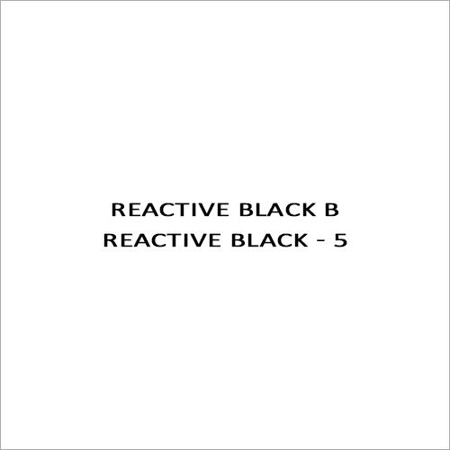 Reactive Black B Reactive Black - 5
