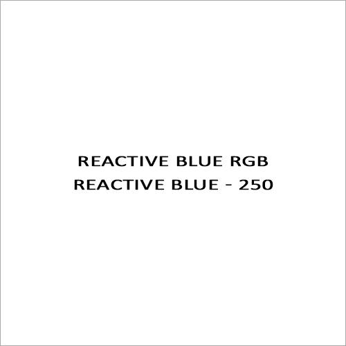Reactive Blue RGB Reactive Blue - 250