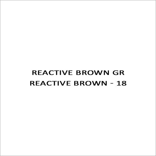 Reactive Brown GR Reactive Brown - 18