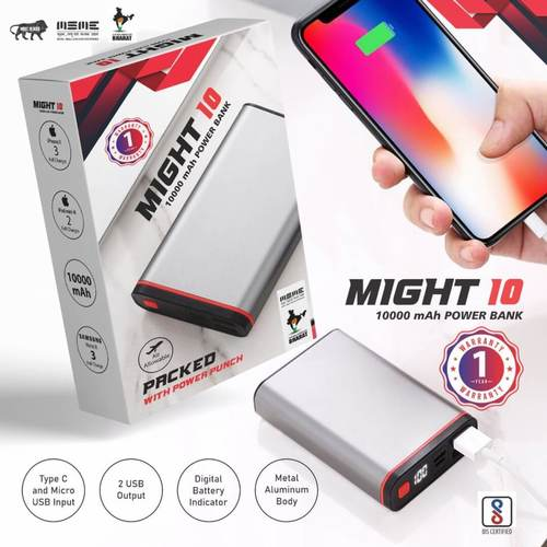 Might 10000mAh Power Bank
