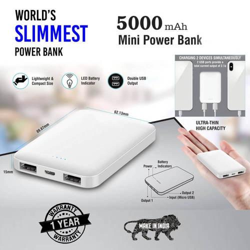 Mini 5 Power Bank 5000mAH