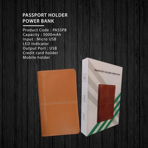 Passport Holder Power Bank 5000mAh