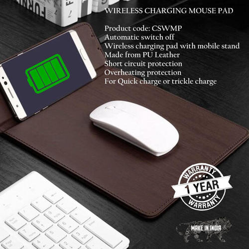 Wireless Charging Mouse Pad 10000mAh