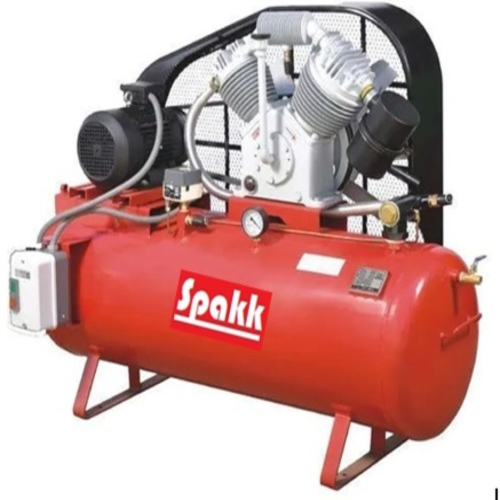 Spakk Piston type Tank Mounted Air Compressor