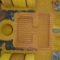 Silica Mesh Fabric For Molten Metal Filtration