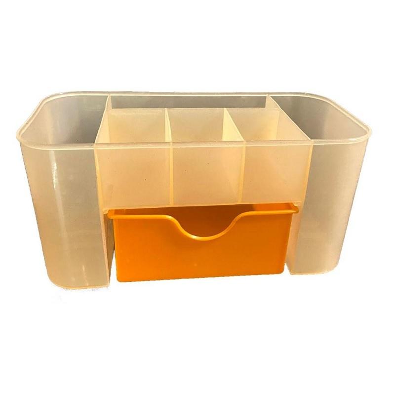 Partition Desktop Storage Organizer With Drawer