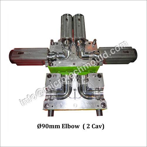 90 mm 2 Cav PVC Elbow Moulds
