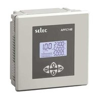 APFC148-308-90/550V SELEC LCD Type Automatic Power Factor Controller With 8 Relay