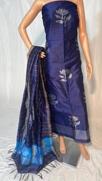Beautifull Poly Dupion Raw Silk Kurti