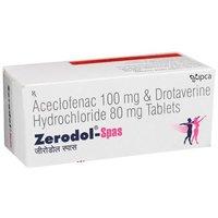 Aceclofenac & Drotaverine hydrochloride Tablet
