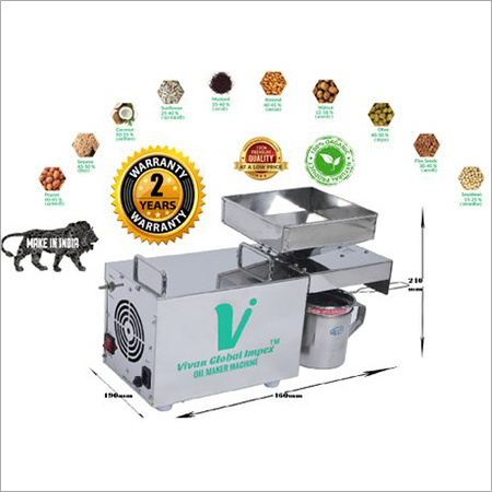 Automatic Peanut Groundnut Oil Expeller For Hom