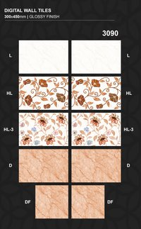 rectified 300x450MM ceramic wall tiles