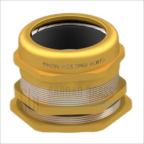IP68 Metric Threaded Single Compression Cable Glands