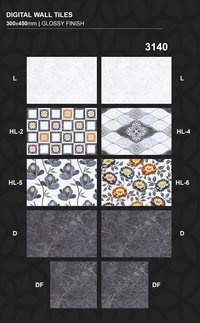 300 x 450 mm Fashionable Kitchen wall Tiles