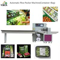 YDUX-450 Unitized flow packaging machine vegetable flow packing machine