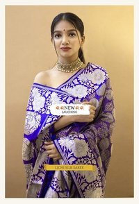 Wear This Banarasi Drape For Your Wedding Functions