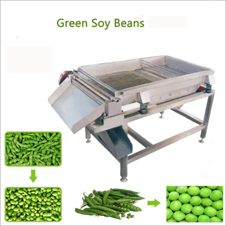 Green Peas Peeling Machine