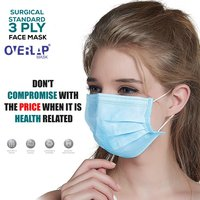 Overlap 3Ply Surgical Mask For All