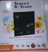 Black 2000w Surya Infrared Cooker