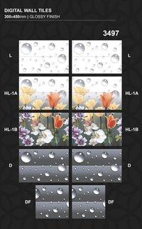 Attractive design 300x450MM Digital Printing Wall tiles