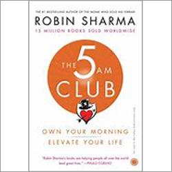 The 5AM Club Robin Sharma Book