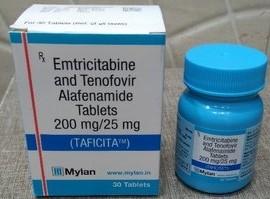 Taficita -emtricitabine And Tenofovir Alafenamide Tablets