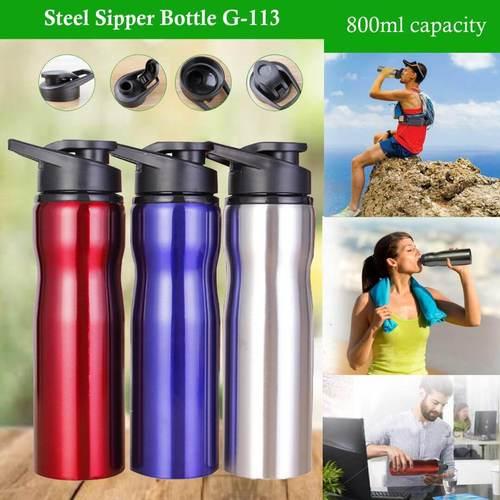 Steel Sipper Bottle 113