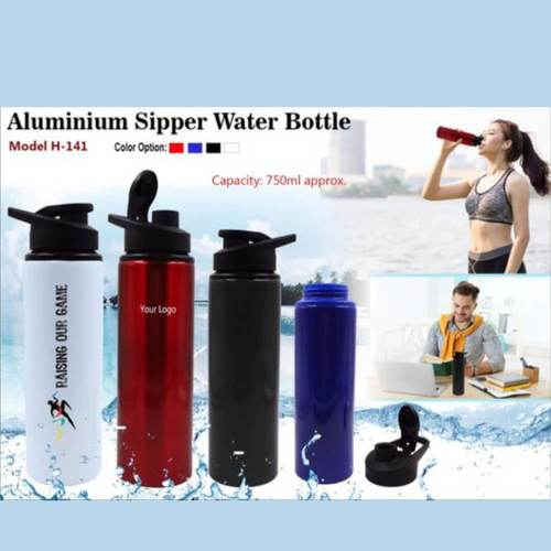 Aluminium Sipper Water Bottle 141