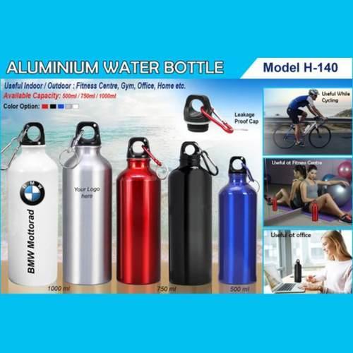 Aluminium Water Bottle 140