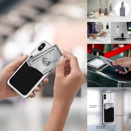 Silicone Stickable Wallet Case
