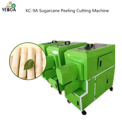 KC-9A Sugarcane peeling cutting machine