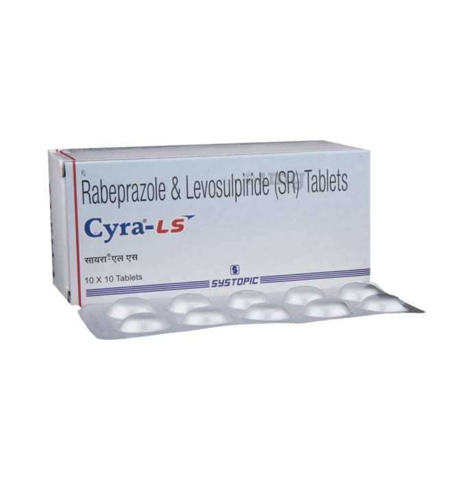 Rabeprazole & Levosulpiride Capsule