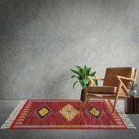 Cotton Flat Weave Floor Carpets