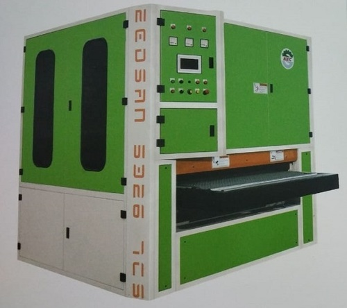 TRIPLE HEAD CALIBRATING AND SANDING MACHINE