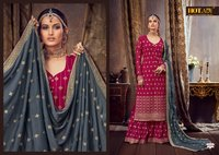 SAMAIRA Pure Georgette With Santoon Lining Dress Material