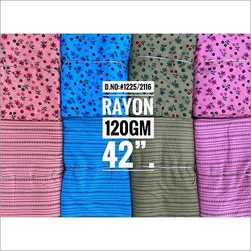 Mix and Match Printed Rayon Fabric