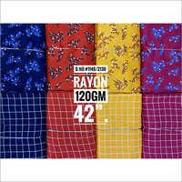 Printed Rayon kurti and Palazzo Fabric