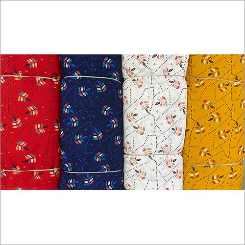 Rayon Floral Printed Kurti Fabric