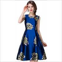 D55 Ewa Blue Dress