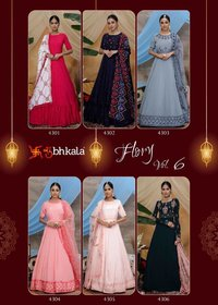 LONG ANARKALI STYLE GOWN