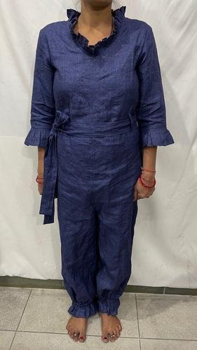 Casual Linen Designer Dress