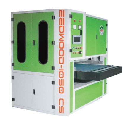 HARDWOOD CALIBRATING & SANDING MACHINE